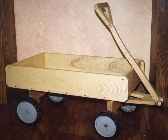 how to build a wooden wagon plans