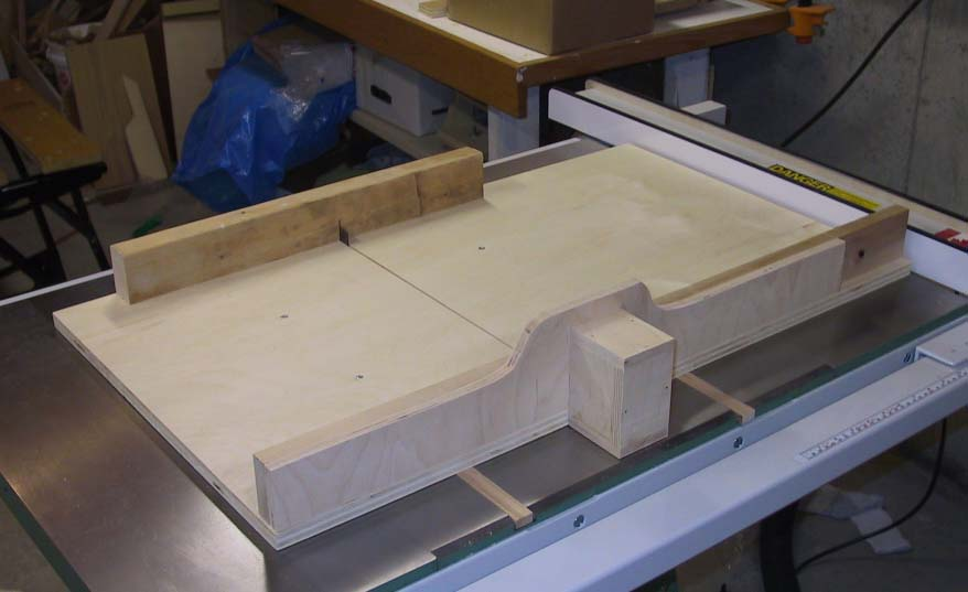 Tablesaw crosscut sled for Table saw sled