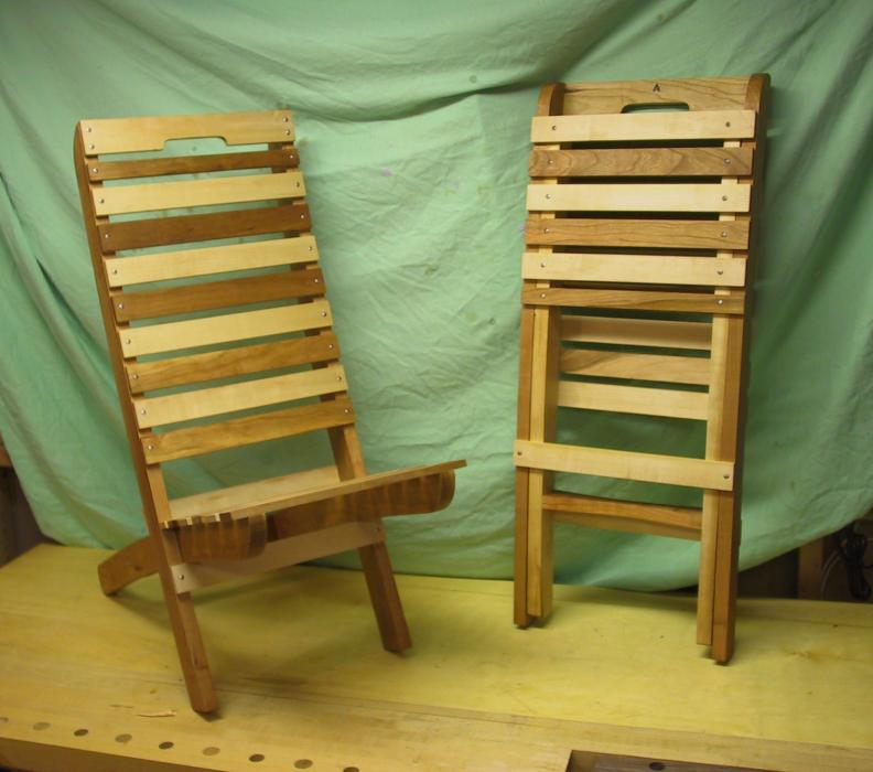 - Wooden Beach Chairs