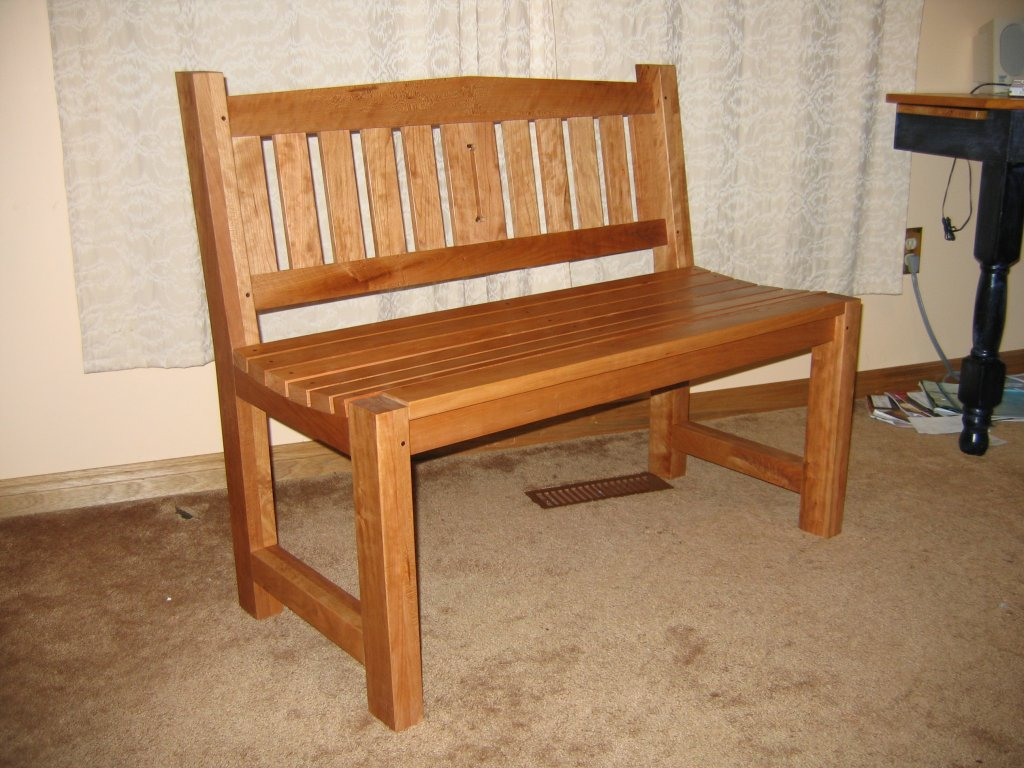 Two seat bench for Two seat kitchen table