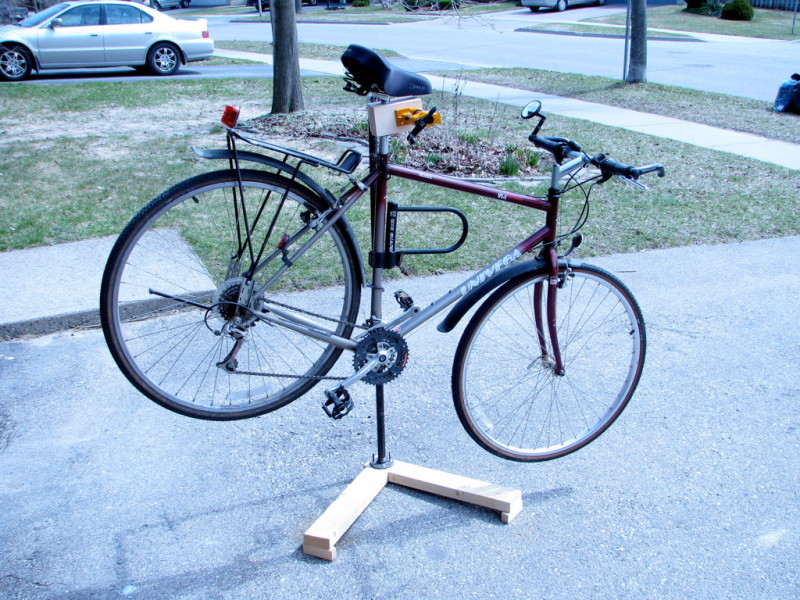 Bare Bones Bike Repair Stand