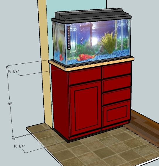 Fish tank stand strength build your own 450 pound for Build your own fish tank