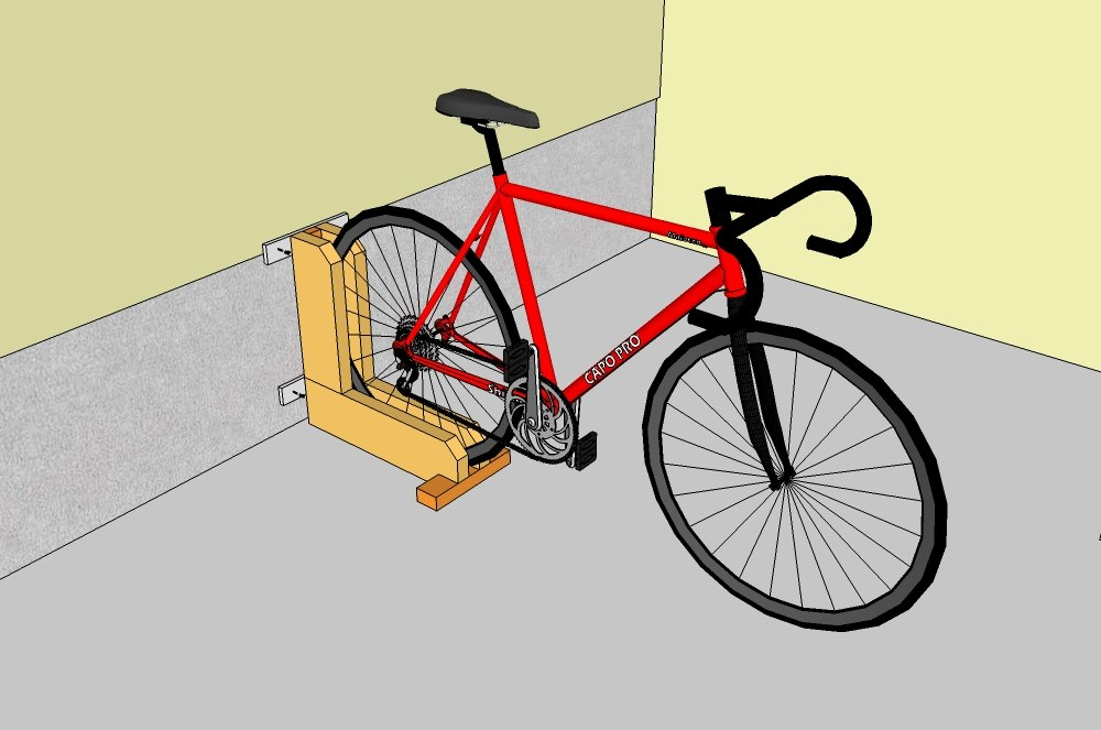 Quick and simple bike rack solutioingenieria Image collections