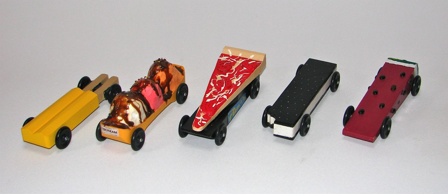 pinewood derby time