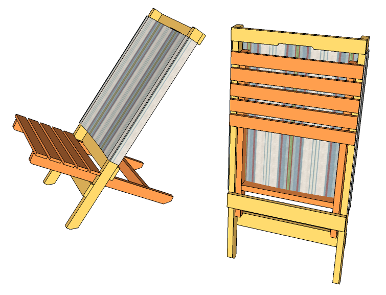 Cool Custom Beach Chairs