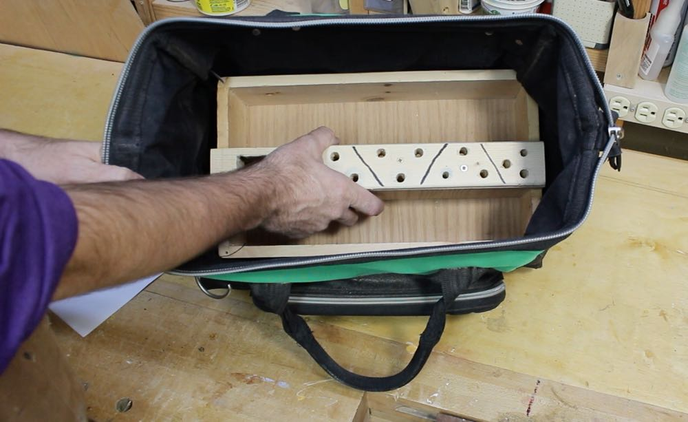 Here Is The Organizer With All Tools That I Was Planning To Permanently Install In This Grab And Go Toolbag